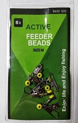FEEDER BEADS Size M
