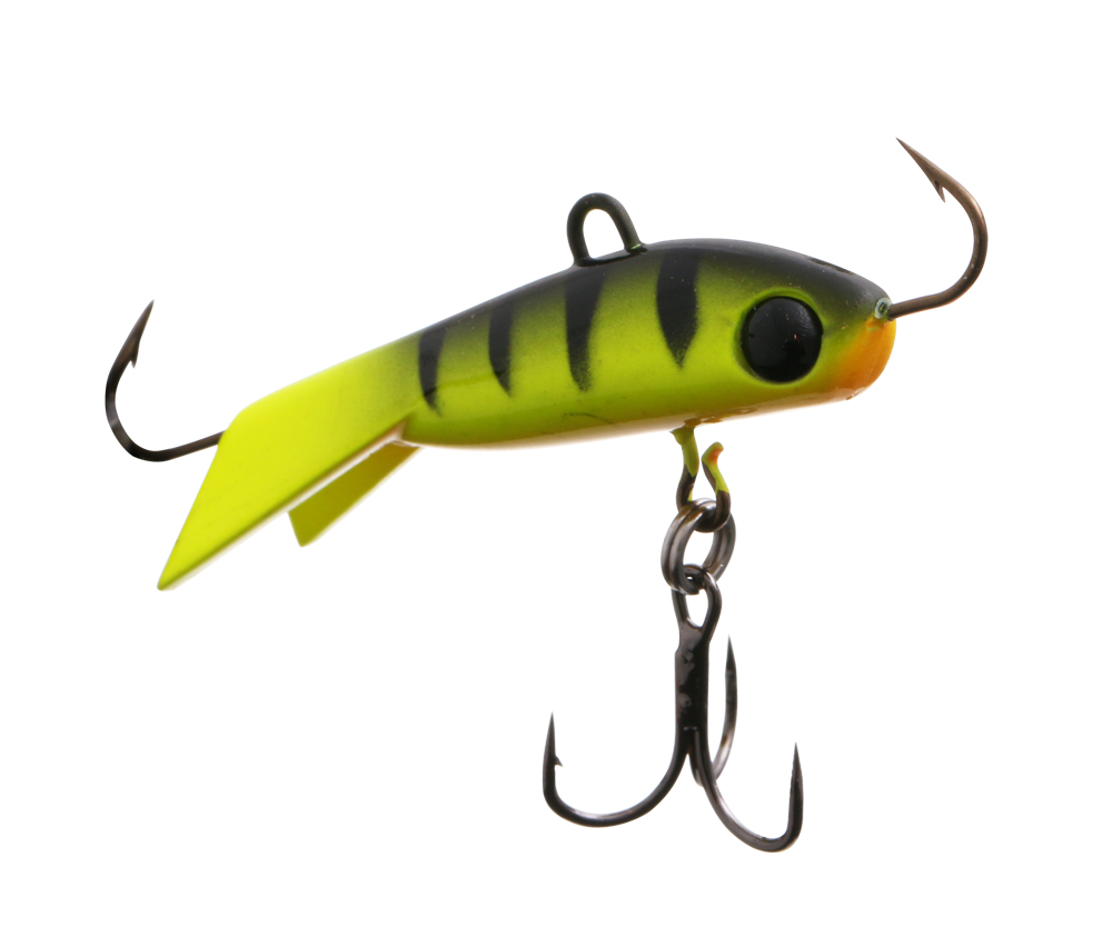 Балансир Vantage Ice Minnow 3.8см 7г Chartreuse Perch