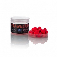 "Флюро поп-апы NewGen Baits. "" Strawberry"""